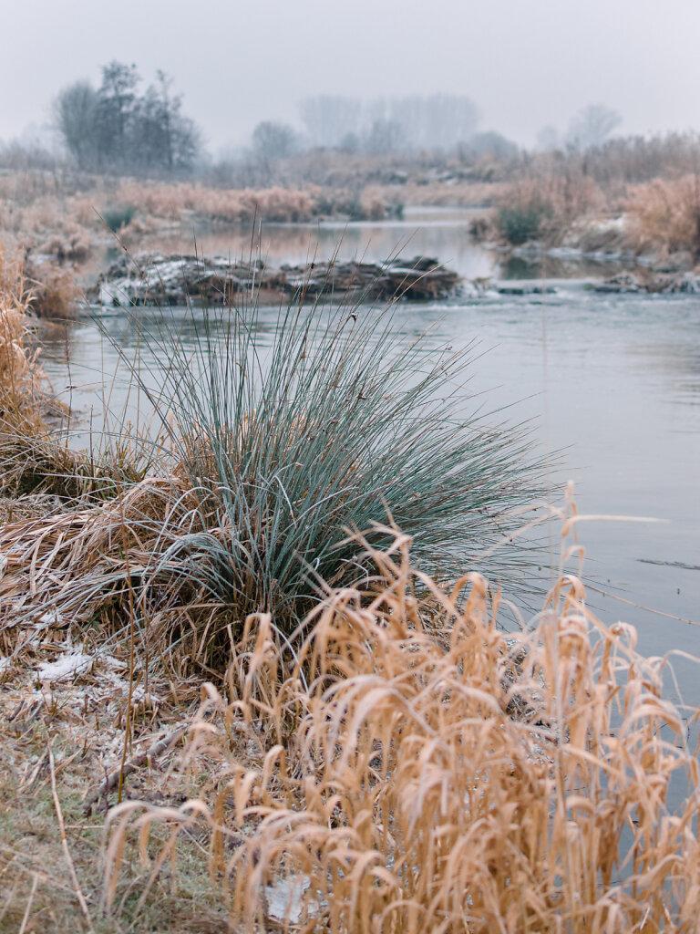 Winterlandschaft Werse